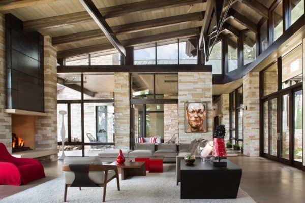 featured posts image for Mountain contemporary home inspired by the rugged Colorado landscape