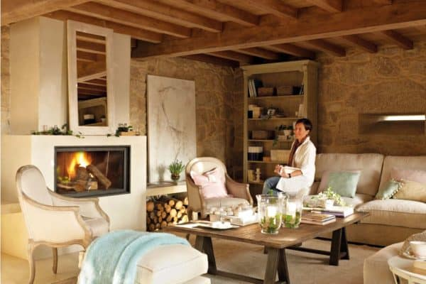 featured posts image for Captivating rustic home in the Spanish countryside with modern charm