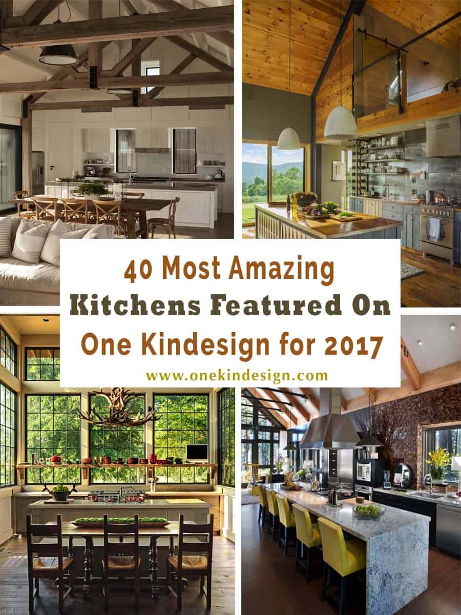 Amazing Kitchens-One Kindesign