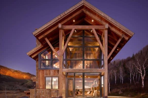 featured posts image for Rustic eco-friendly home perched on the picturesque Elkins Meadow