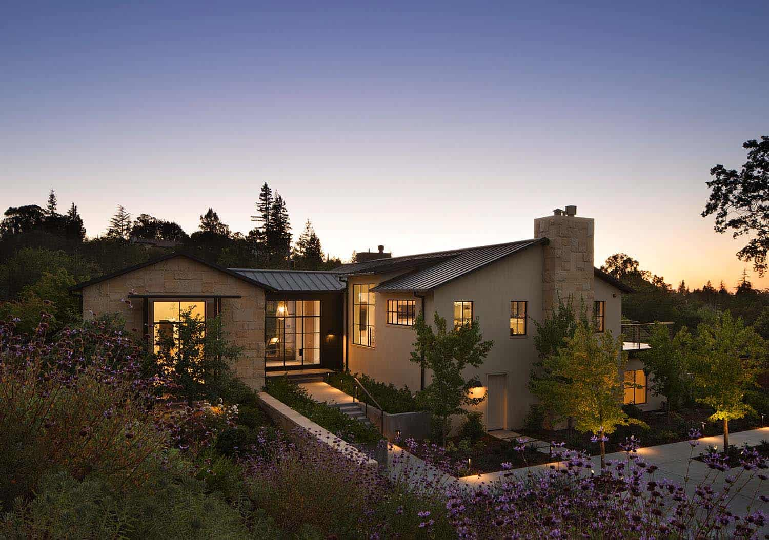 Contemporary Family Compound-Ken Linsteadt Architects-08-1 Kindesign