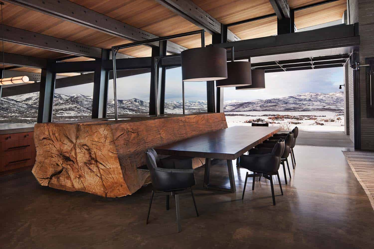 Contemporary Mountain Residence-RKD Architects-02-1 Kindesign