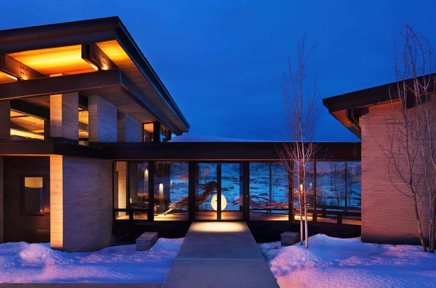 Contemporary Mountain Residence-RKD Architects-03-1 Kindesign
