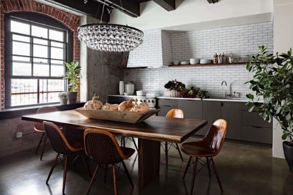 featured posts image for Fascinating industrial style loft apartment renovation in Portland