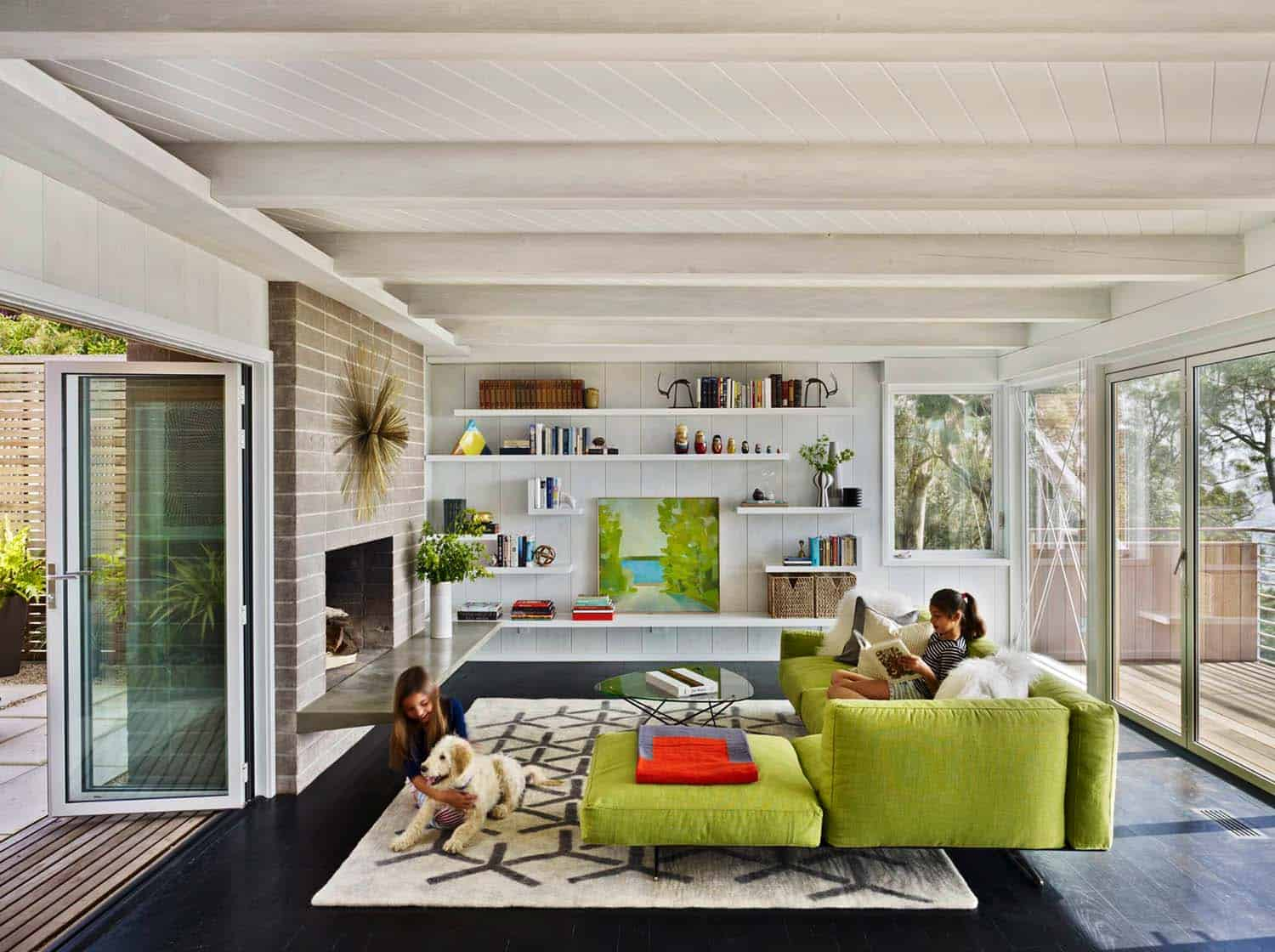 Stunning mid-century modern home renovation in Berkeley Hills