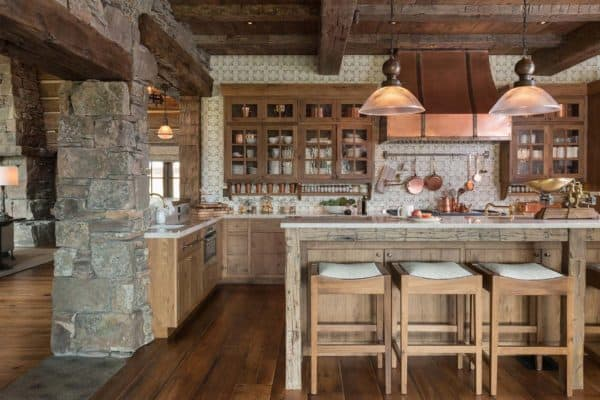 featured posts image for Rustic-modern mountain ranch nestled in the rugged Montana landscape
