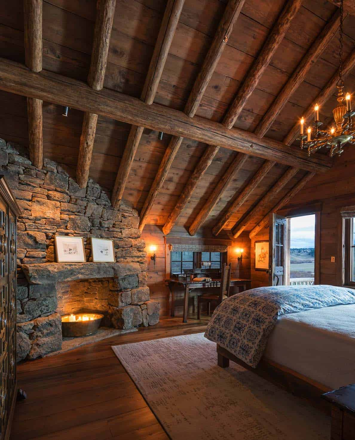 Modern Ranch Home Designs: Rustic-modern Mountain Ranch Nestled In The Rugged Montana