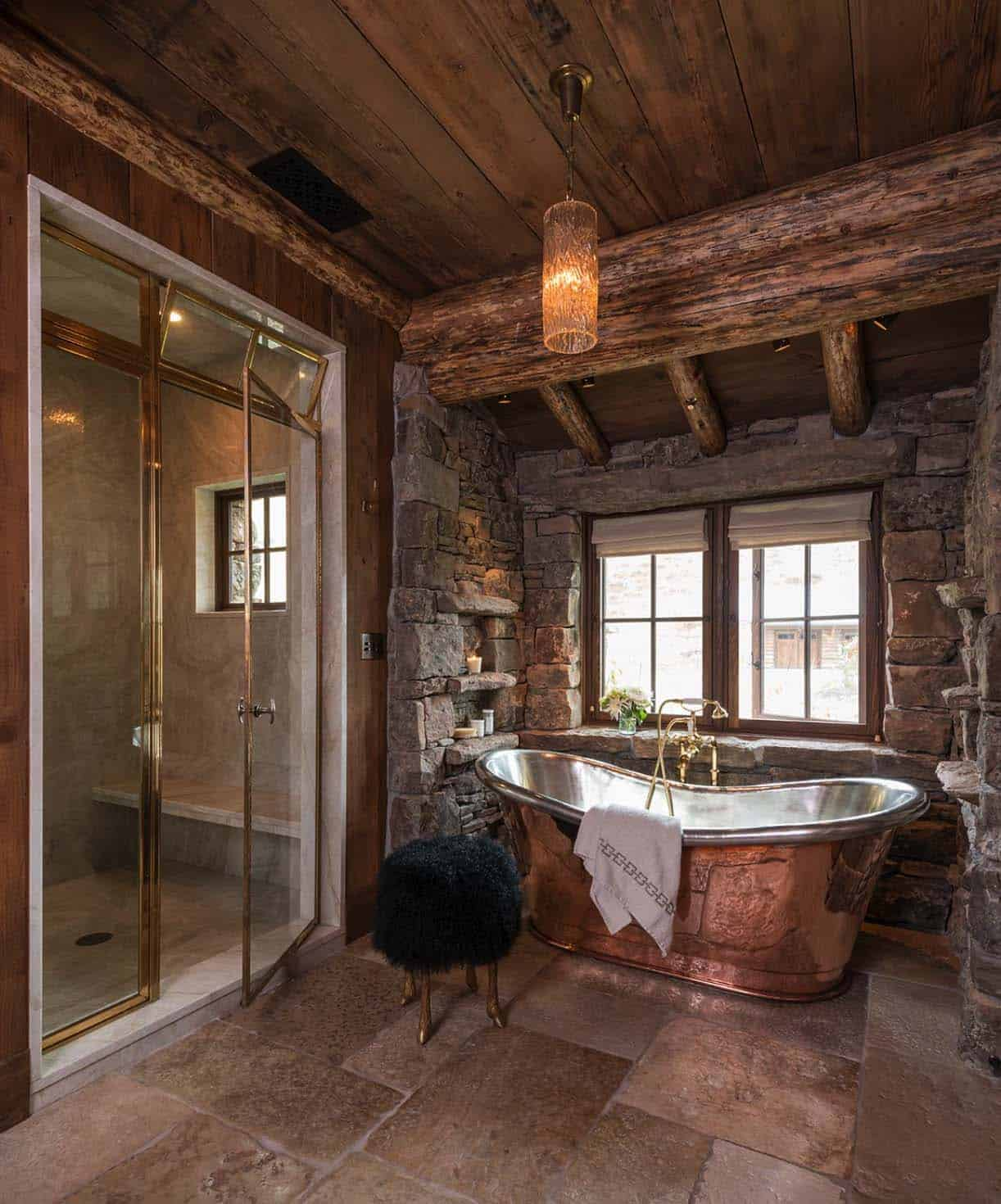 Modern Or Rustic Front Landscape Design: Rustic-modern Mountain Ranch Nestled In The Rugged Montana
