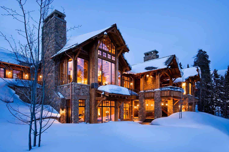 Modern-Rustic Mountain Home-Locati Architects-03-1 Kindesign