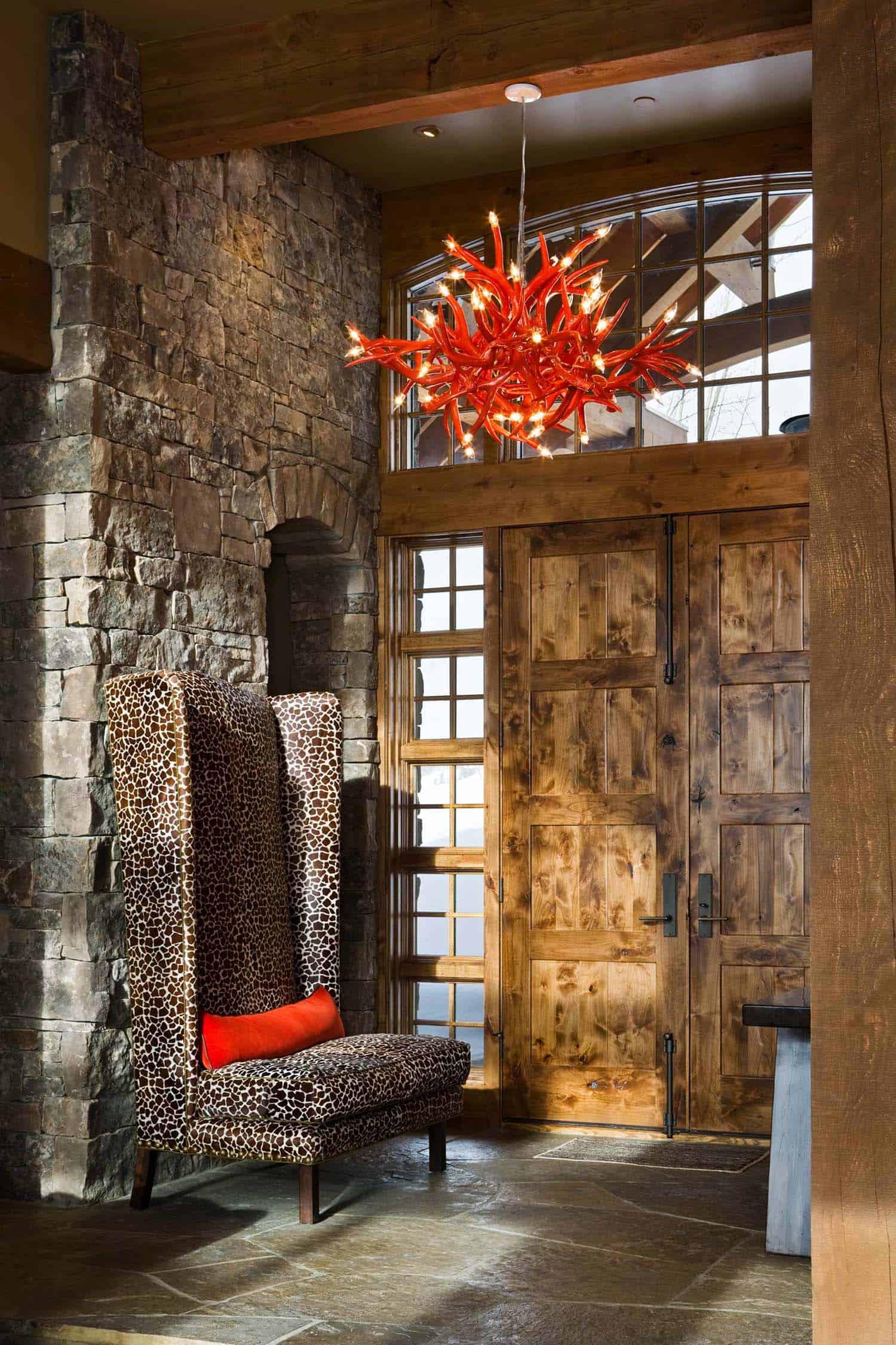 Modern-Rustic Mountain Home-Locati Architects-07-1 Kindesign