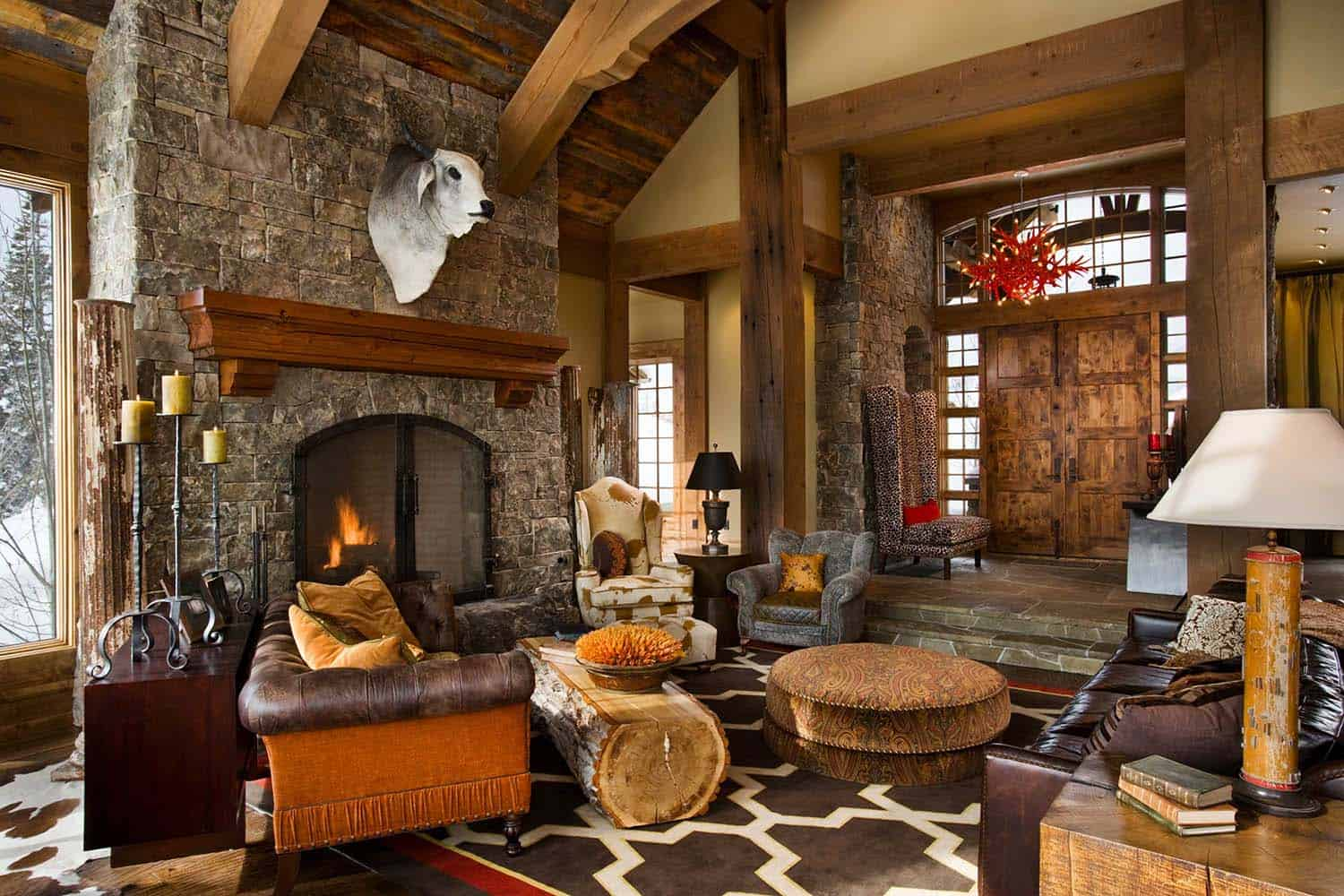 Enchanting Modern-rustic Dwelling In The Rugged Mountains