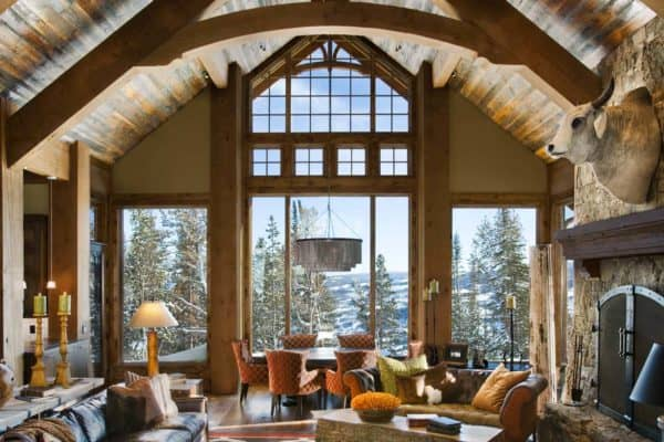 featured posts image for Enchanting modern-rustic dwelling in the rugged mountains of Big Sky