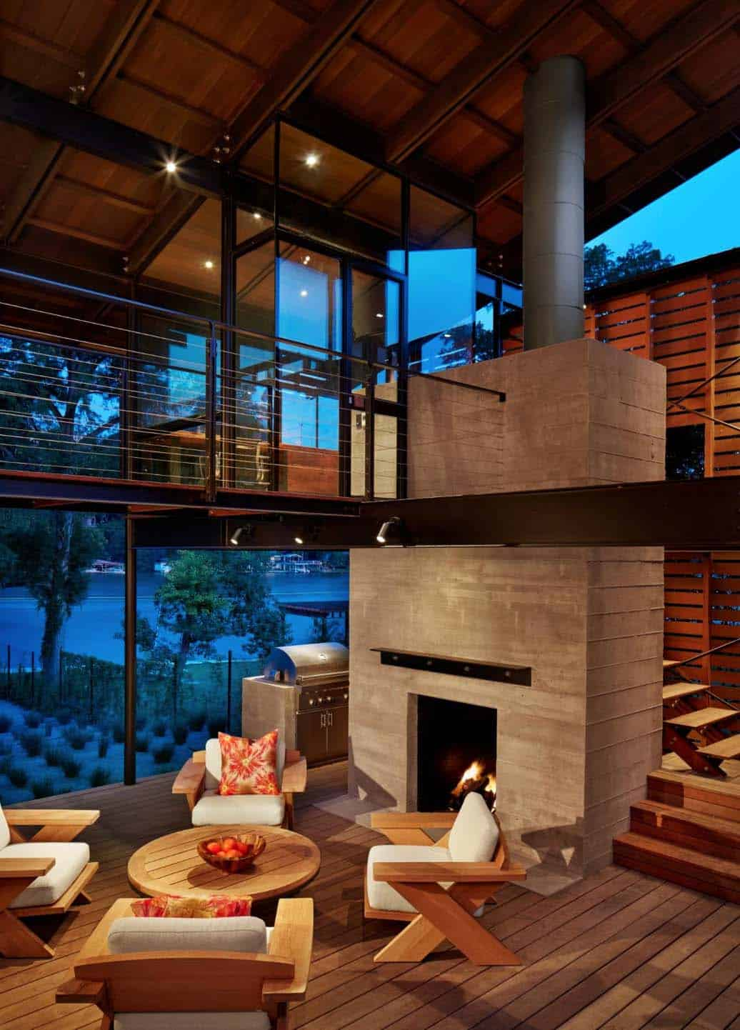 Modern Vacation Retreat-Lake Flato-19-1 Kindesign