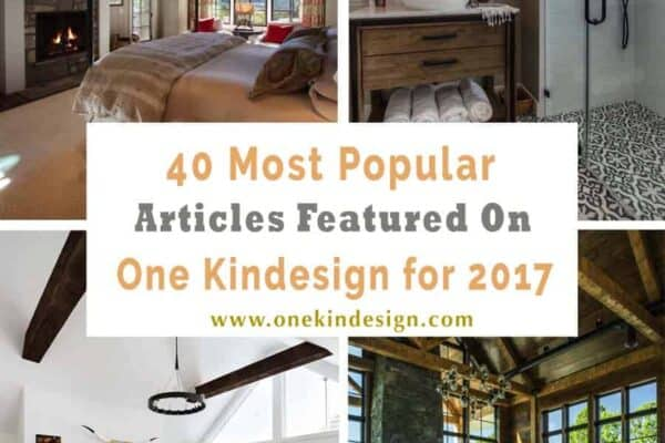 featured posts image for 40 Most popular articles featured on One Kindesign for 2017