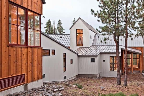 featured posts image for Gorgeous rustic-modern home surrounded by woods in Lake Tahoe
