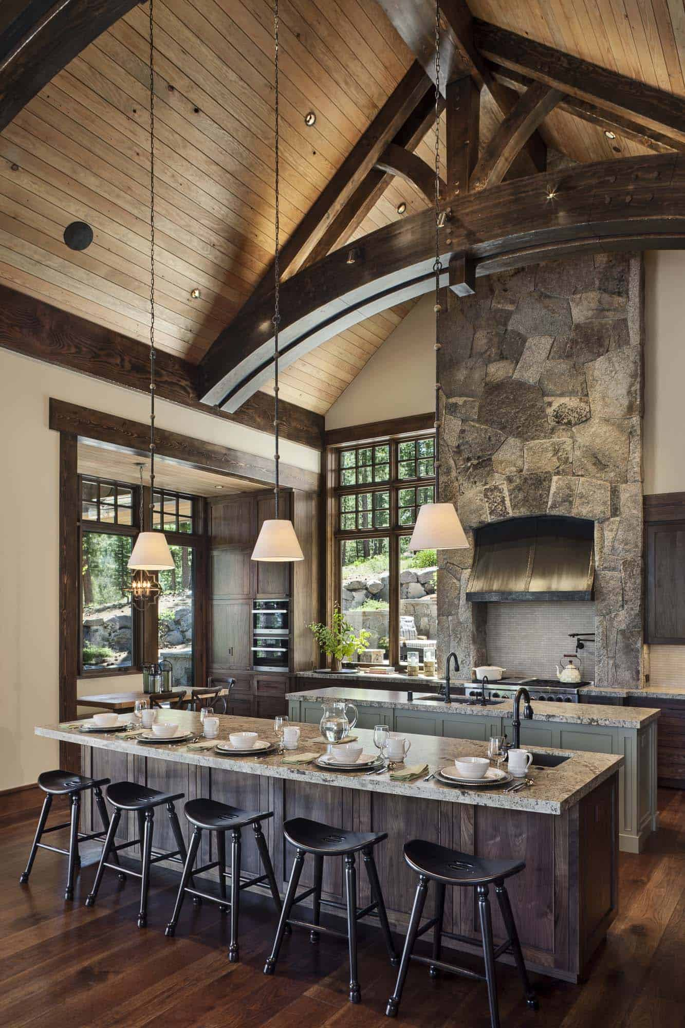 Rustic Mountain Retreat-Kelly Stone Architects-08-1 Kindesign