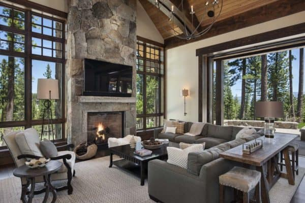 featured posts image for Gorgeous rustic mountain retreat with stylish interiors in Martis Camp