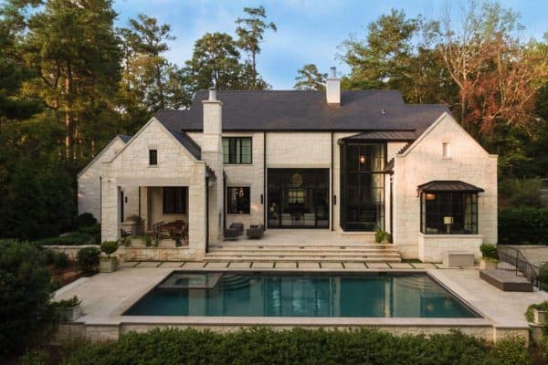 featured posts image for An Atlanta residence blends traditional detailing with modern simplicity
