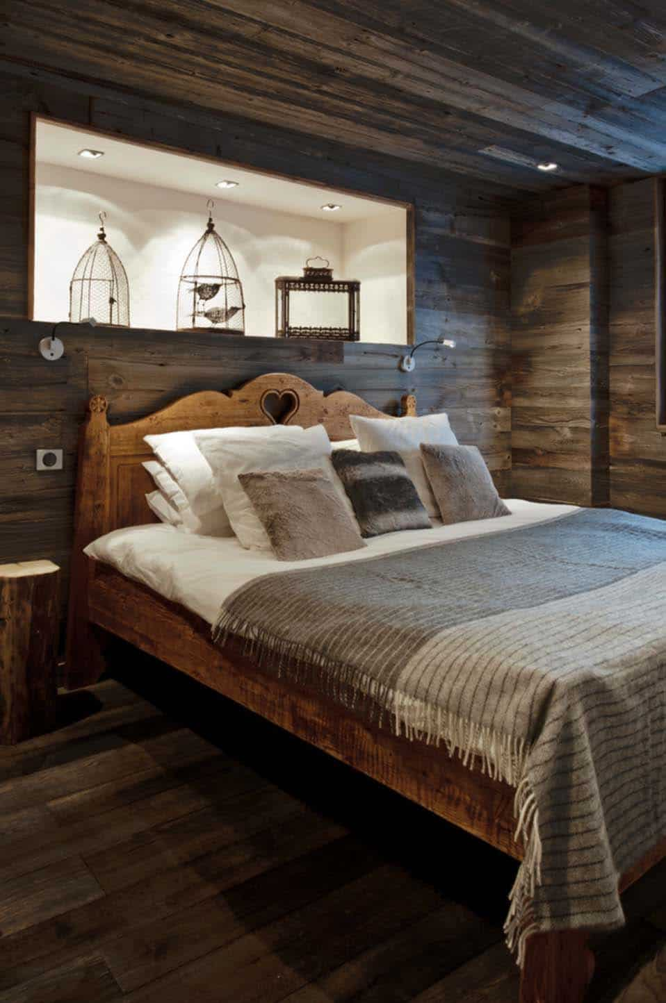 40 Amazing rustic bedrooms styled to feel like a cozy getaway