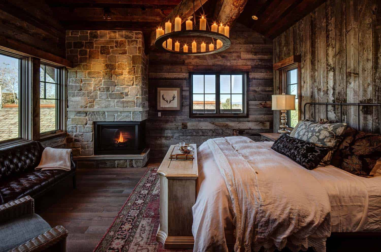 Amazing Cozy-Rustic Bedrooms-06-1 Kindesign