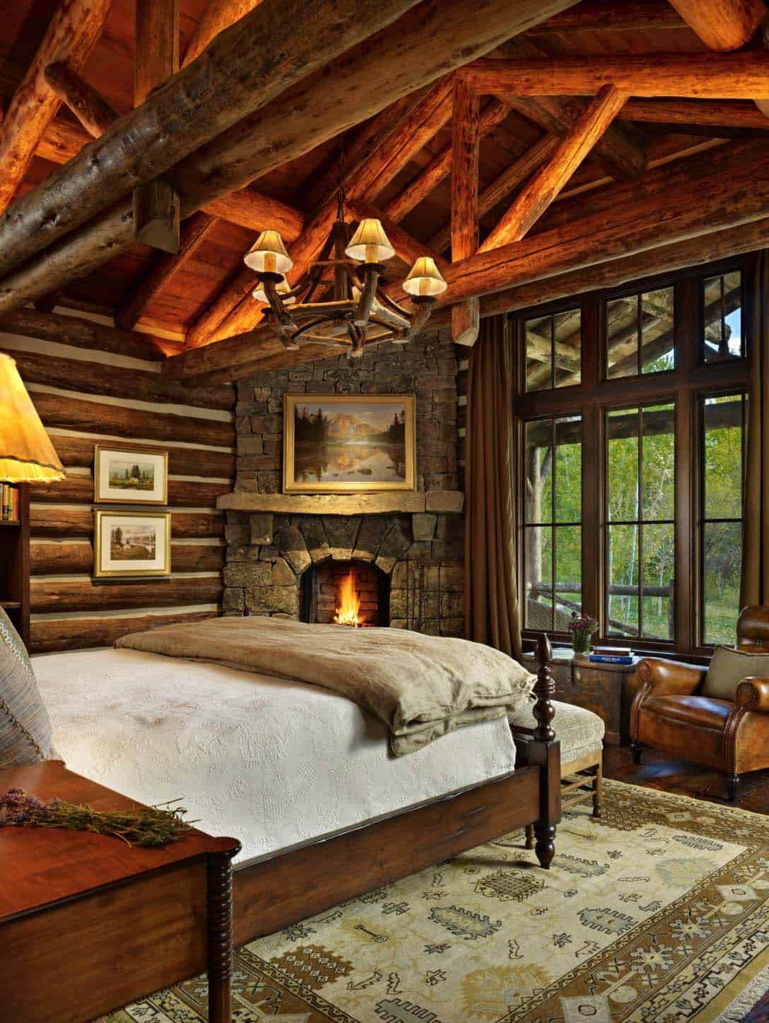 Amazing Cozy-Rustic Bedrooms-09-1 Kindesign