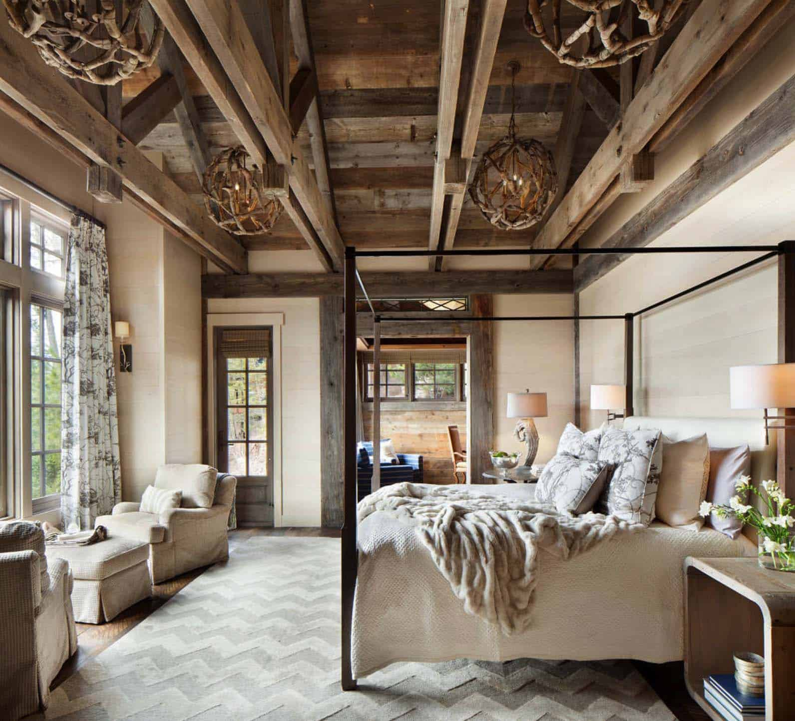 Amazing Cozy-Rustic Bedrooms-11-1 Kindesign