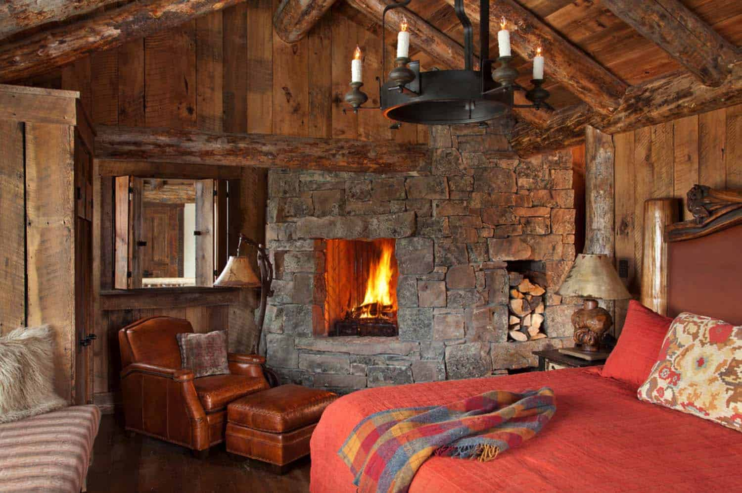 Amazing Cozy-Rustic Bedrooms-14-1 Kindesign