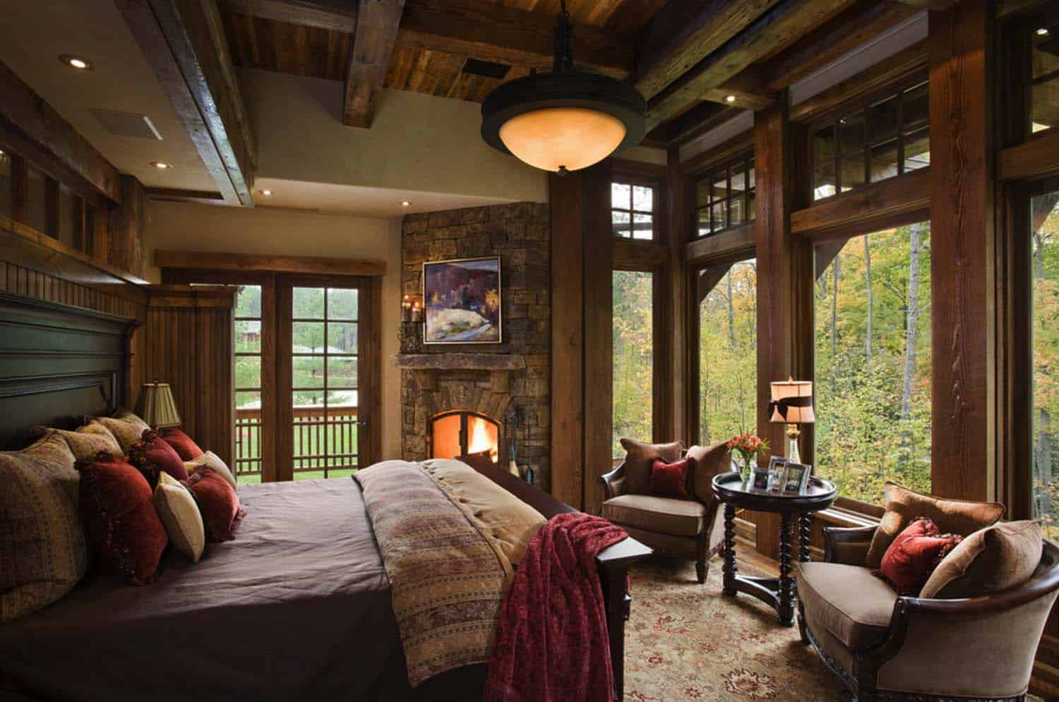 Amazing Cozy-Rustic Bedrooms-16-1 Kindesign