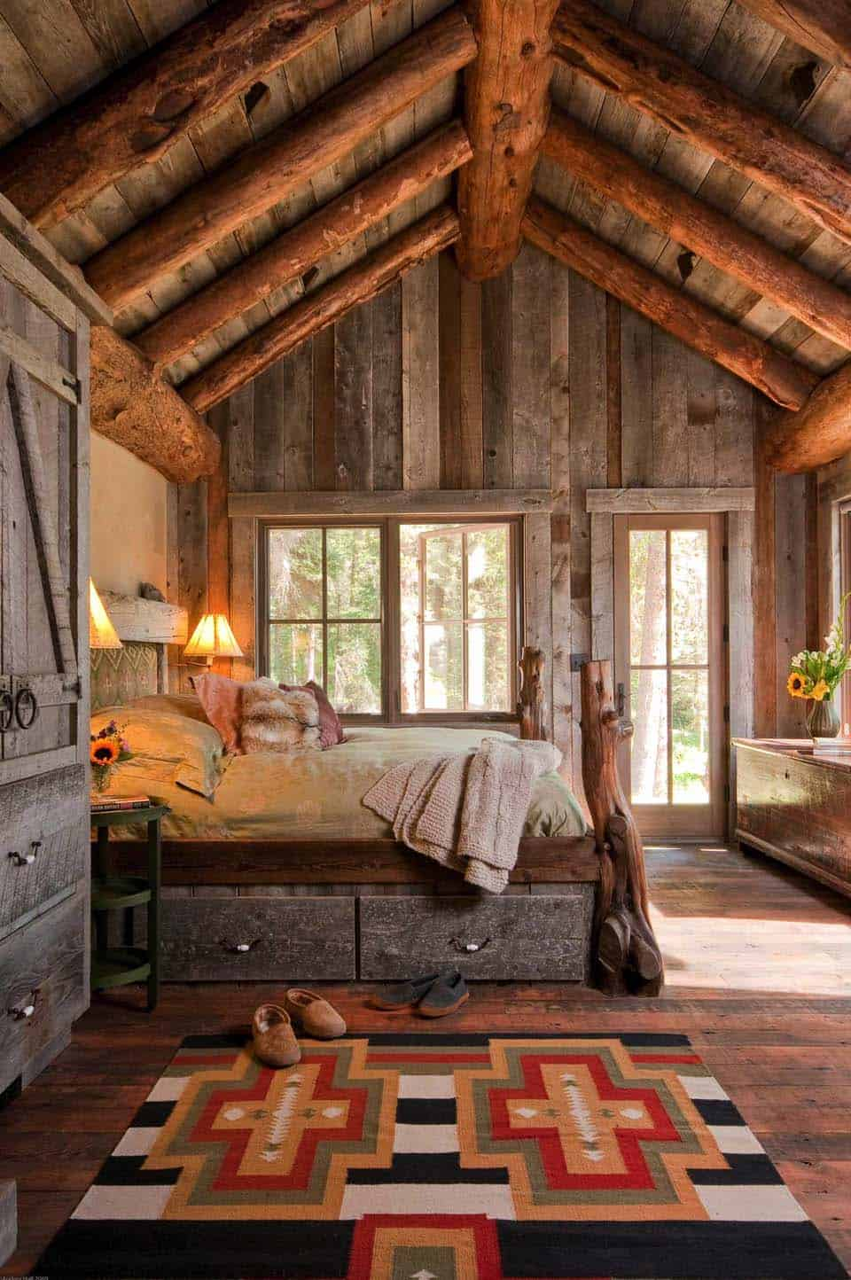 Amazing Cozy-Rustic Bedrooms-17-1 Kindesign