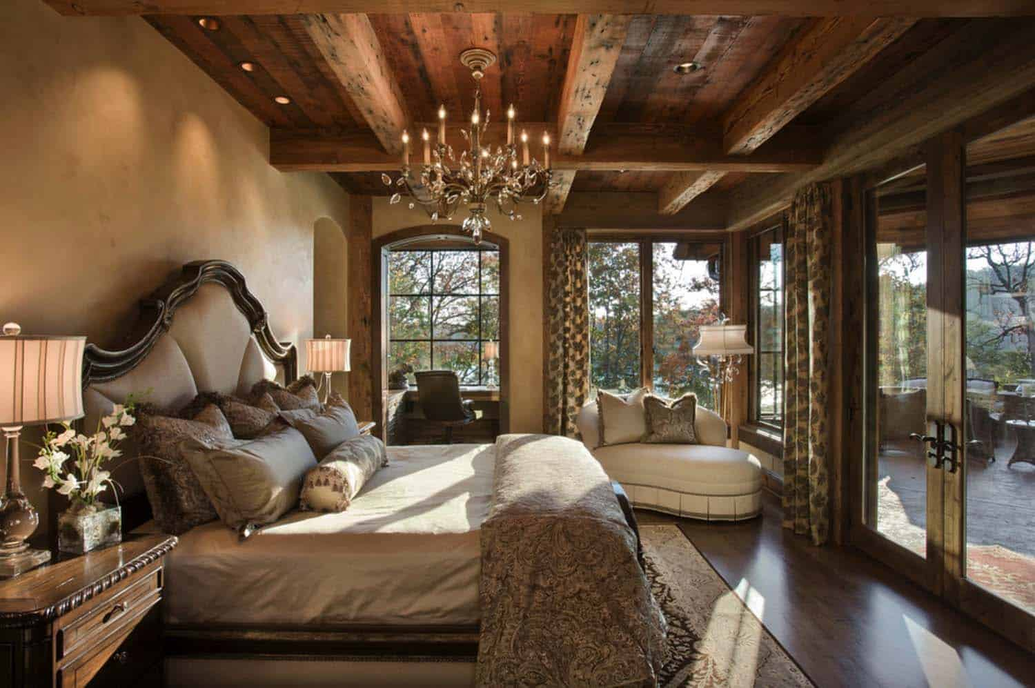 40 amazing rustic bedrooms styled to feel like a cozy getaway for Living room queen creek