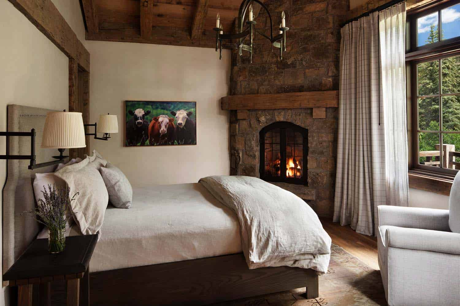 Amazing Cozy-Rustic Bedrooms-22-1 Kindesign