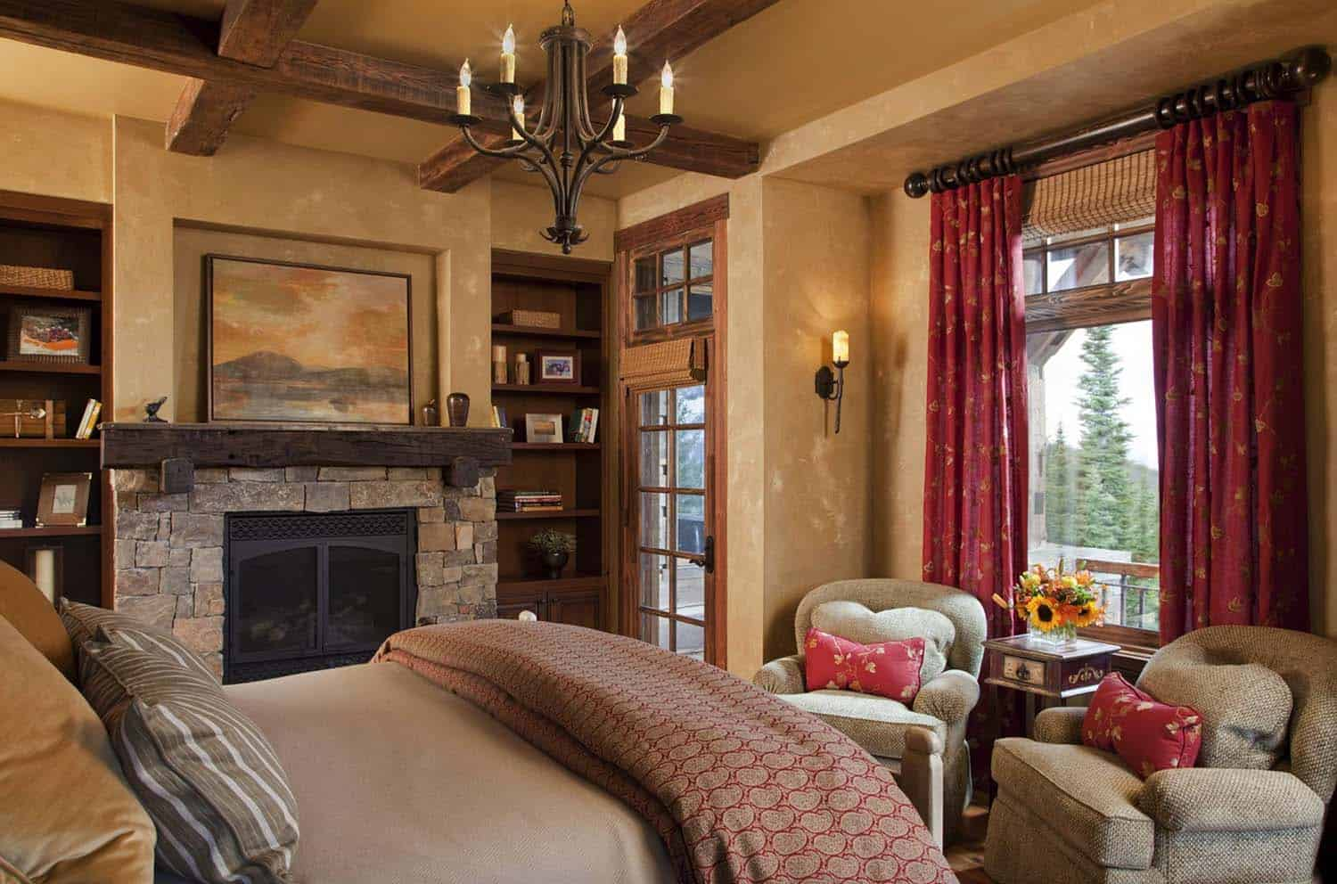 Amazing Cozy-Rustic Bedrooms-25-1 Kindesign