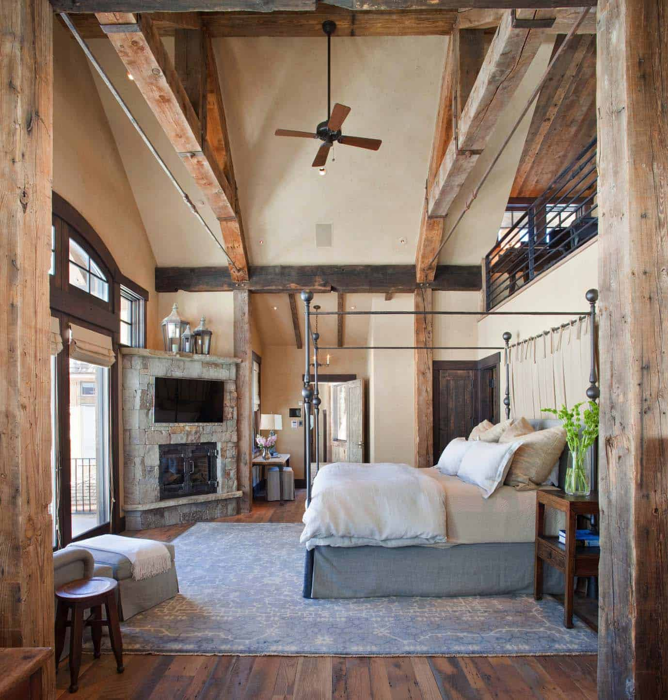 Amazing Cozy-Rustic Bedrooms-28-1 Kindesign
