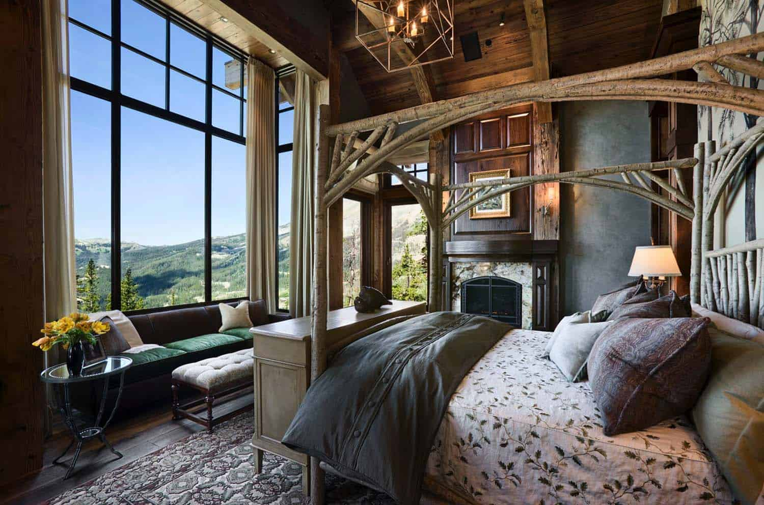 Amazing Cozy-Rustic Bedrooms-31-1 Kindesign