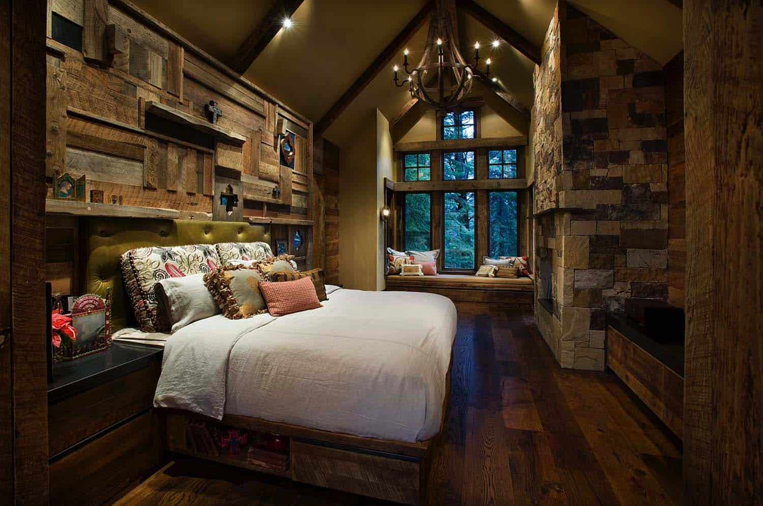 40 amazing rustic bedrooms styled to feel like a cozy getaway for Decor 1 32
