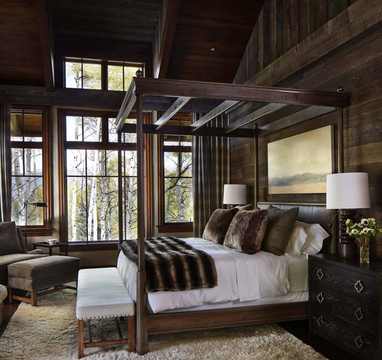 Amazing Interior Design Pic1: 40 Amazing Rustic Bedrooms Styled To Feel Like A Cozy Getaway