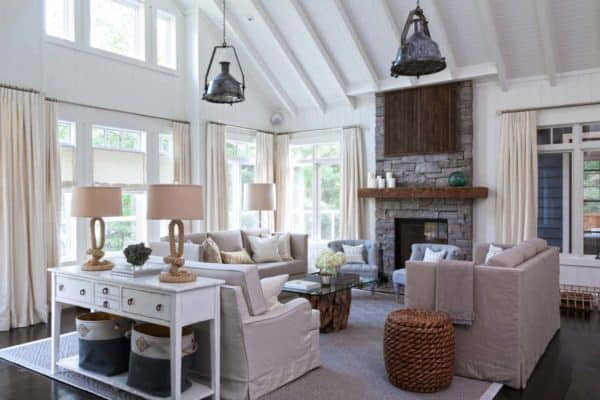 featured posts image for Muskoka beach cottage designed with fresh and inspiring details