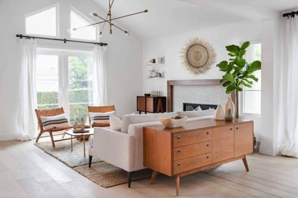 featured posts image for Eclectically styled home with mid-century details in Newport Beach