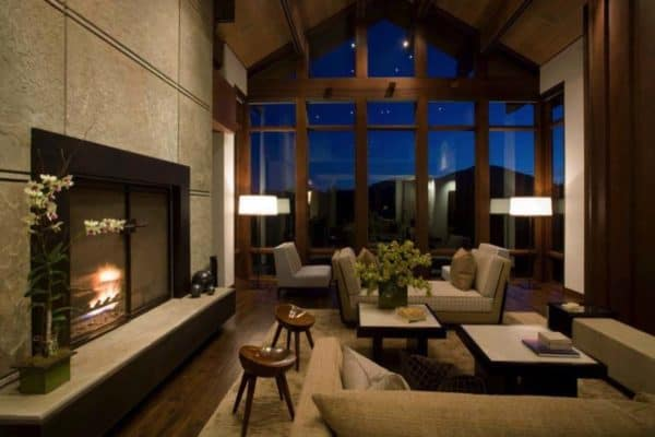 featured posts image for Gorgeous mountain retreat in Idaho displaying a modern edge