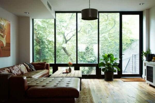featured posts image for Light-filled NYC townhouse renovation offers comfortable modern living