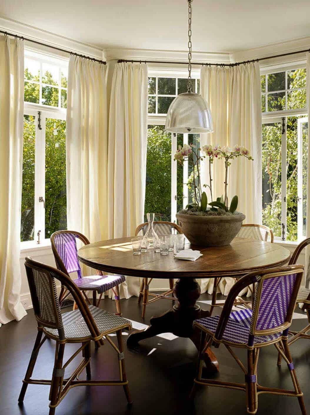 Dutch colonial revival gets an elegant refresh in san for Colonial style interior decorating