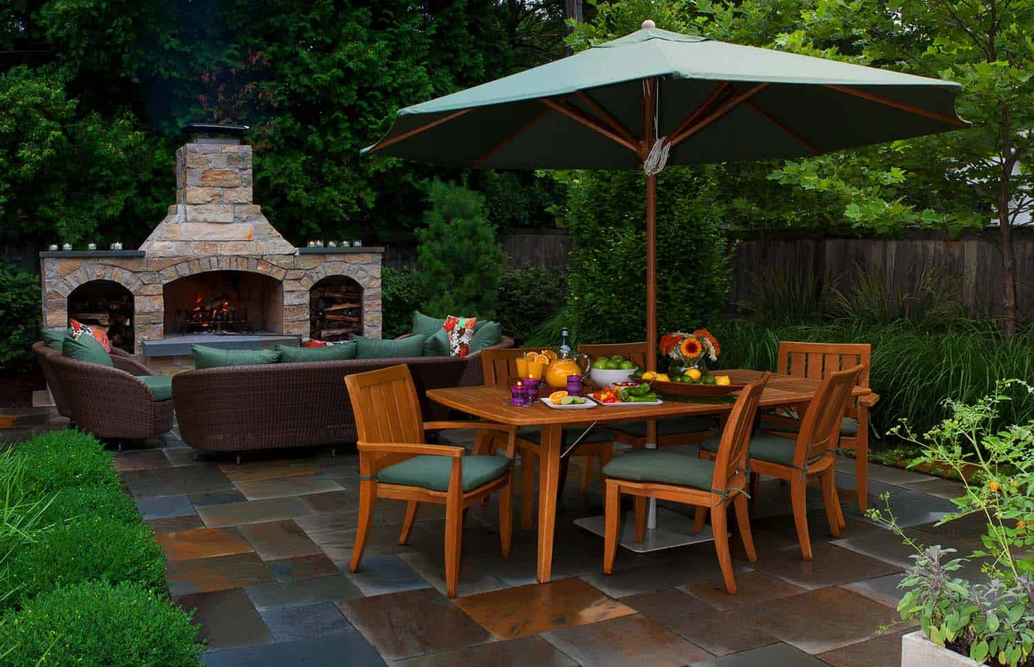 Attractive Fabulous Outdoor Patio Ideas 04 1 Kindesign