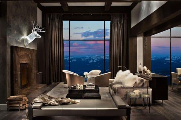 featured posts image for Fascinating contemporary mountain retreat showcases Rocky Mountain views