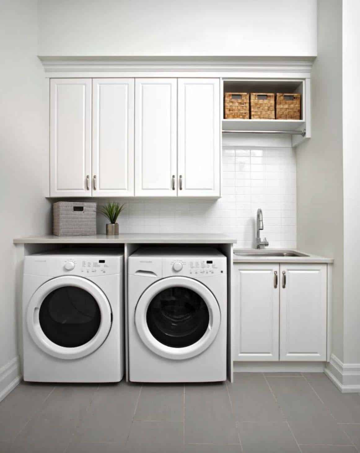 Functional-Stylish Small Laundry Rooms-14-1 Kindesign