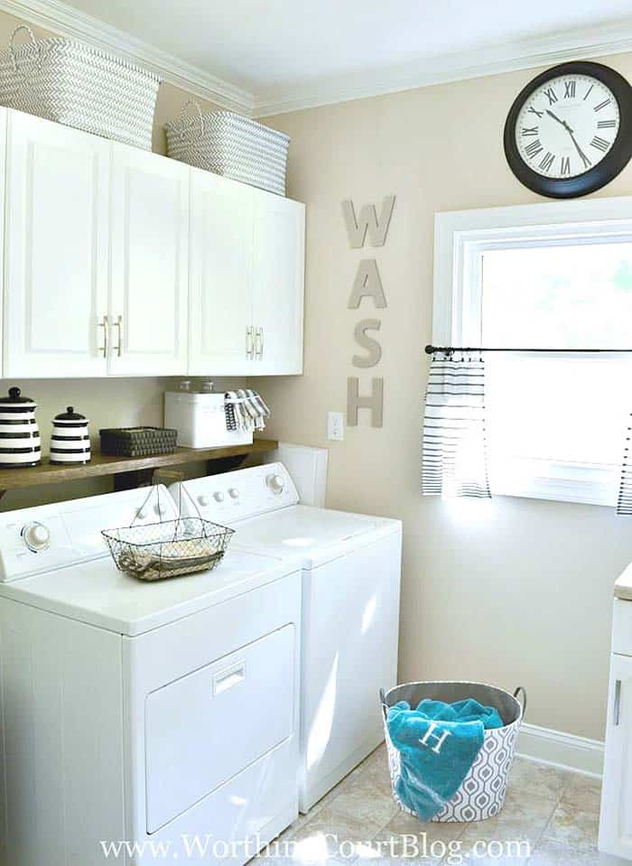 Functional-Stylish Small Laundry Rooms-15-1 Kindesign