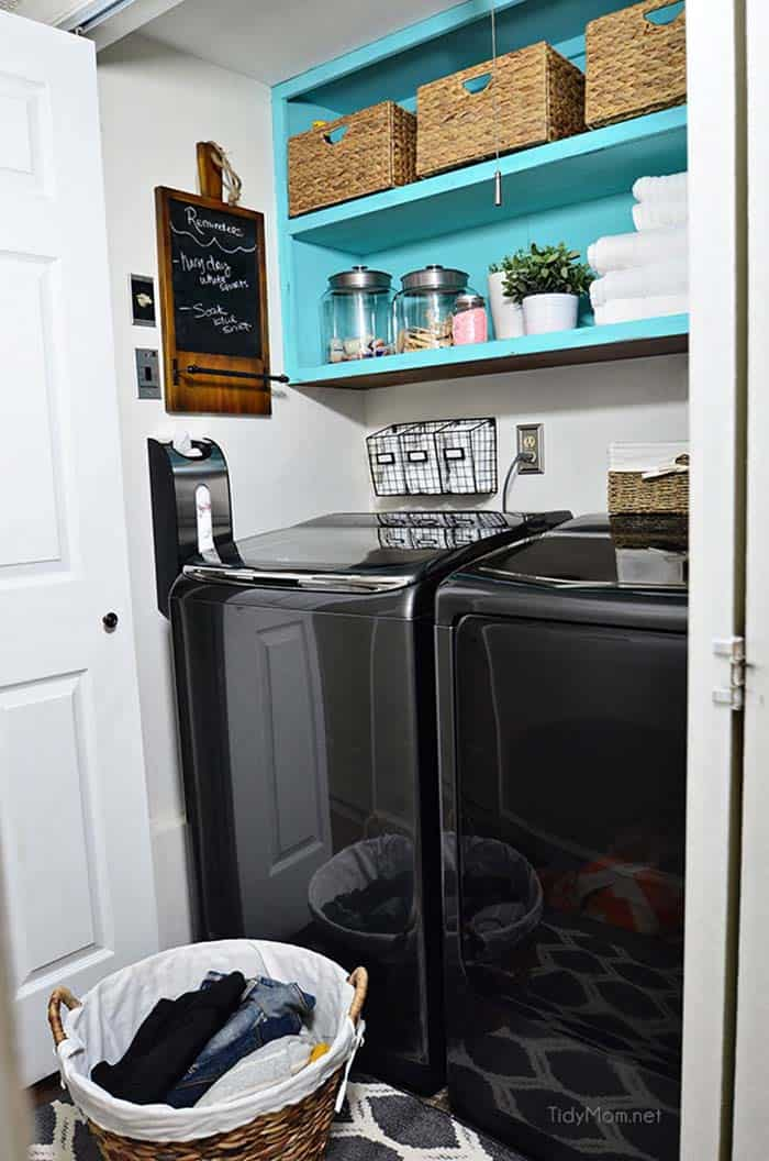 Functional-Stylish Small Laundry Rooms-19-1 Kindesign
