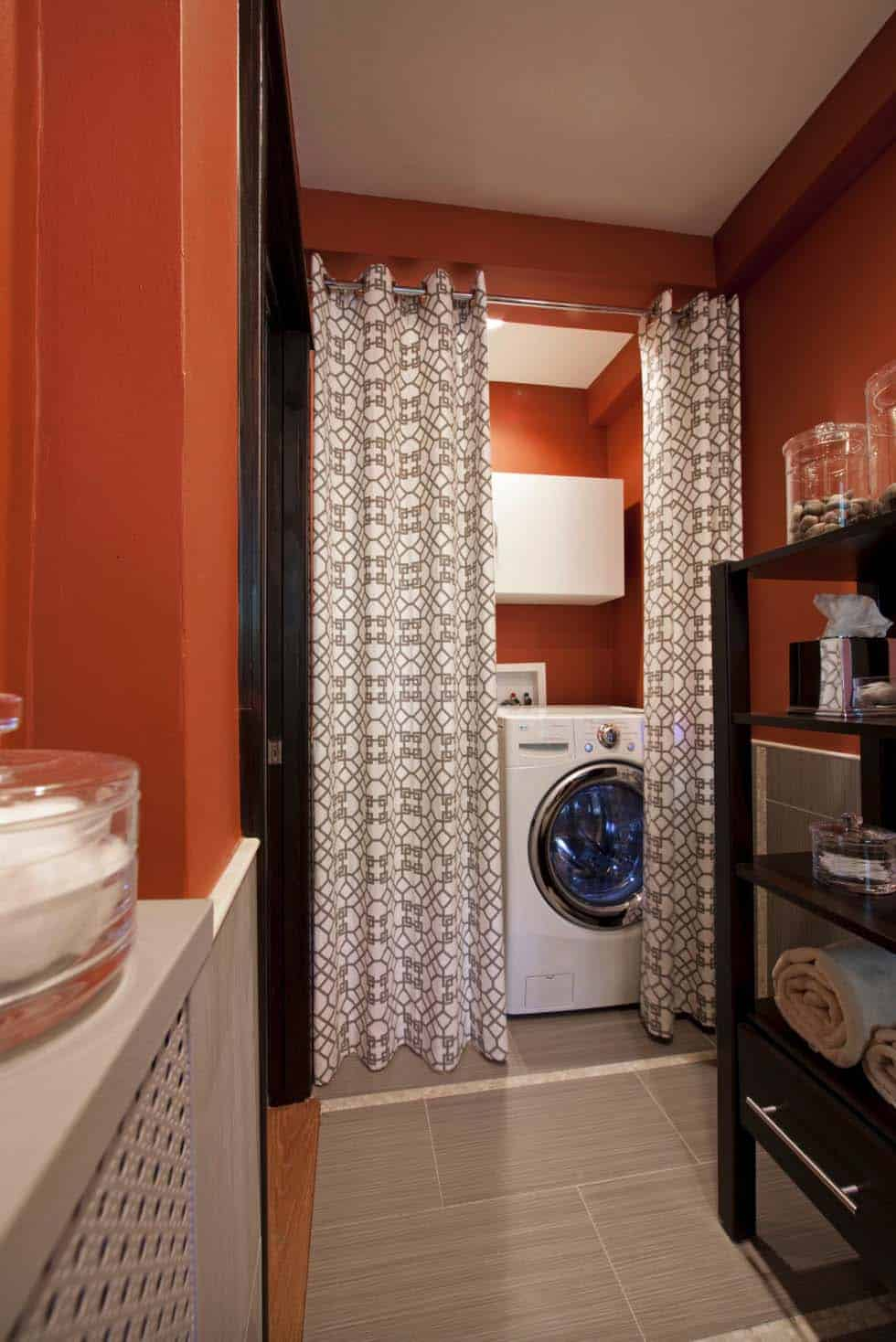 Functional-Stylish Small Laundry Rooms-20-1 Kindesign