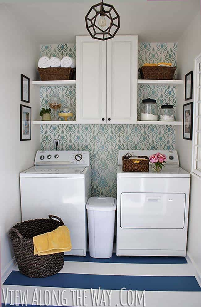 Functional-Stylish Small Laundry Rooms-24-1 Kindesign