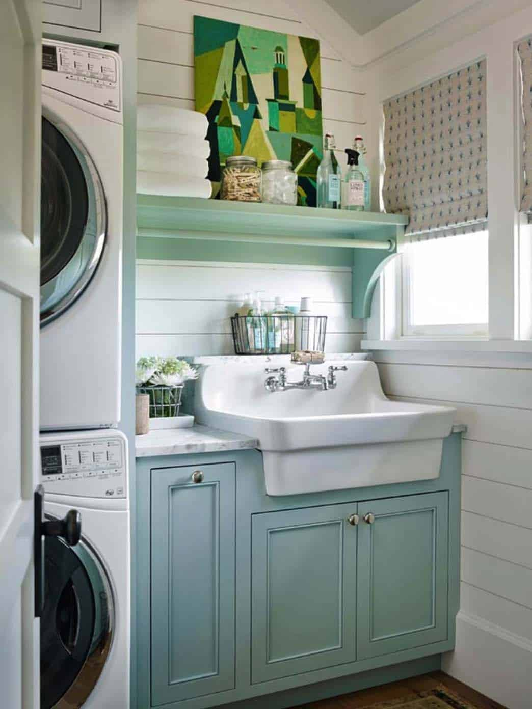 35 Clever Ways To Create Functional And Stylish Small Laundry Rooms