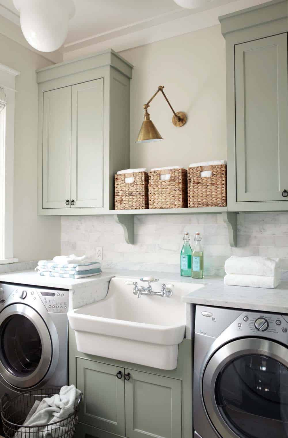 Functional-Stylish Small Laundry Rooms-26-1 Kindesign